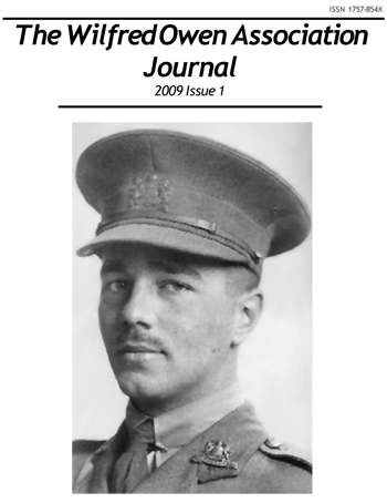 The Wilfred Owen Journal - Issue 1