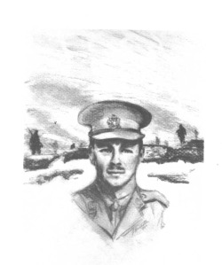Wilfred Owen in uniform