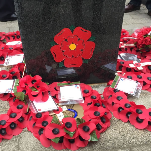 Greengate memorial to Salford war heroes unveiled