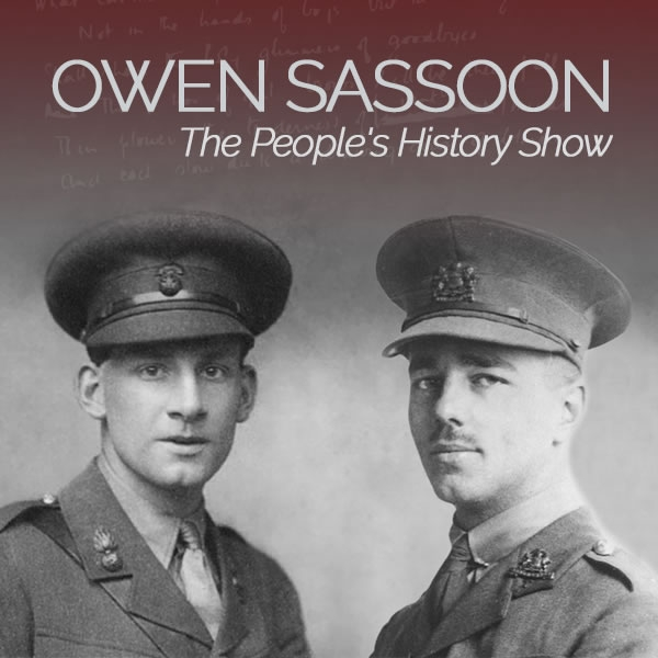 Wilfred Owen on The People's History Show
