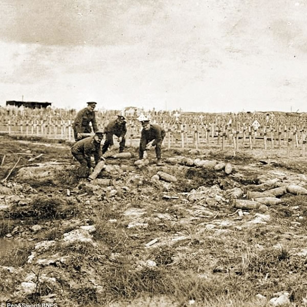 WWI soldiers buried in unmarked graves could be identified