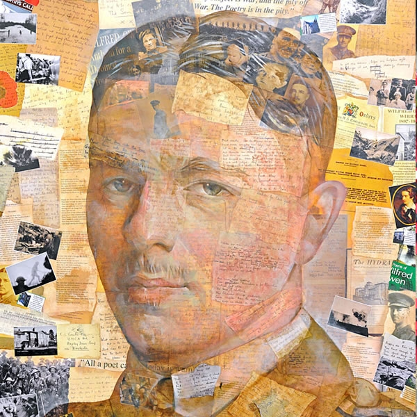 New portrait of Owen unveiled at the Wilfred Owen Story