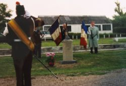 Memorial at Gailly