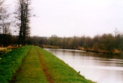 The Sambre-Oise Canal at Ors