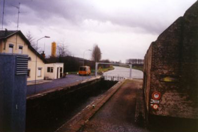 The Sambre-Oise Canal - The Lock at Ors